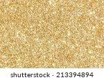 Golden Glitter Texture...