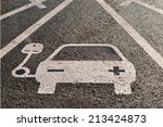 Electric Charging Parking Space