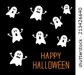 Many Spook Ghosts. Happy...