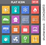 vector application heating and... | Shutterstock .eps vector #213426853