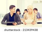 education  technology and... | Shutterstock . vector #213439438