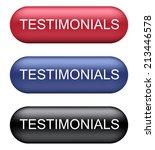 testimonials buttons | Shutterstock .eps vector #213446578