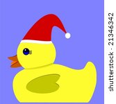 vector of yellow rubber duck... | Shutterstock .eps vector #21346342