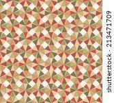 seamless abstract geometric... | Shutterstock . vector #213471709