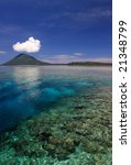 north sulawesi indonesia... | Shutterstock . vector #21348799