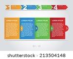 step vector illustration   Shutterstock .eps vector #213504148