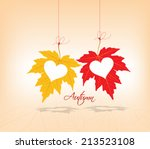 Autumn Leaves Background Coupl...