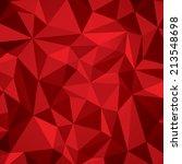 abstract vector geometry... | Shutterstock .eps vector #213548698
