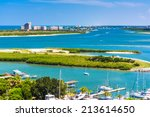 View Of Ponce Inlet And New...