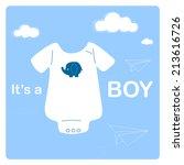 Baby Boy Shower Invitation Card ...
