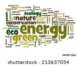 vector concept or conceptual... | Shutterstock .eps vector #213637054