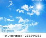sky.vector background. | Shutterstock .eps vector #213644383