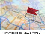 Red Silicon Valley Pin In Map...