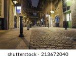 dark alley wide angle   stock...   Shutterstock . vector #213672040