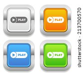 four square button with... | Shutterstock .eps vector #213700570