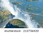 The Victoria Falls Is The...