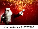 Santa Clause With Gift Bag...
