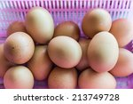 Background Of Fresh Eggs For...