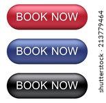 book now buttons | Shutterstock .eps vector #213779464