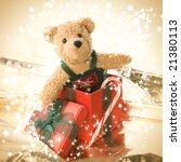 Very Cute Teddy Bear In A Gift...