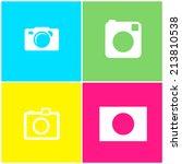 4 vector photo in flat design...