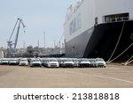 odessa   march 15  maritime... | Shutterstock . vector #213818818