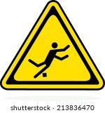 caution sign on white background   Shutterstock .eps vector #213836470