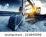 Big Excavator On New...