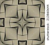 vector seamless pattern. modern ... | Shutterstock .eps vector #213860644