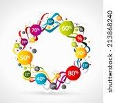 sale | Shutterstock .eps vector #213868240