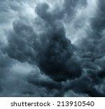 Stormy Grey Cloudy Sky...