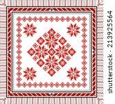 vector art ethnic ornament...   Shutterstock .eps vector #213925564