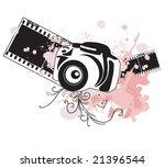 illustration of a camera | Shutterstock .eps vector #21396544