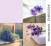 Lavender Tone Collage Of...
