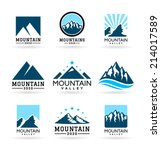 mountains  3  | Shutterstock .eps vector #214017589
