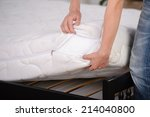 demonstration of quality. a... | Shutterstock . vector #214040800