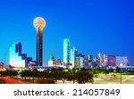 Overview Of Downtown Dallas In...