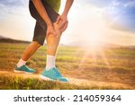 Runner Leg And Muscle Pain...
