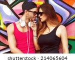 Fashion Couple With Sunglasses...