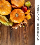 agriculture harvested products... | Shutterstock . vector #214075033