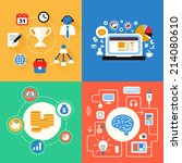 business and modern... | Shutterstock .eps vector #214080610
