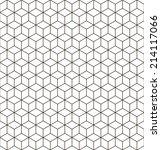 seamless vector geometric... | Shutterstock .eps vector #214117066