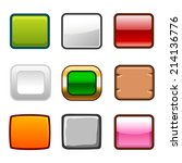 square game buttons back and...