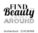 collection of unusual... | Shutterstock .eps vector #214136968