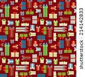 seamless gift boxes pattern....