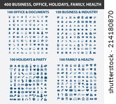 400 business  office  holidays  ... | Shutterstock .eps vector #214180870