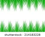 vector illustration of green... | Shutterstock .eps vector #214183228