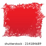 christmas background with... | Shutterstock .eps vector #214184689