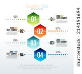 vector illustration of glossy... | Shutterstock .eps vector #214191694