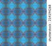 seamless pattern made from blue ... | Shutterstock . vector #214194268